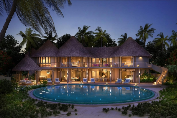 Two-Bed Beach Residence