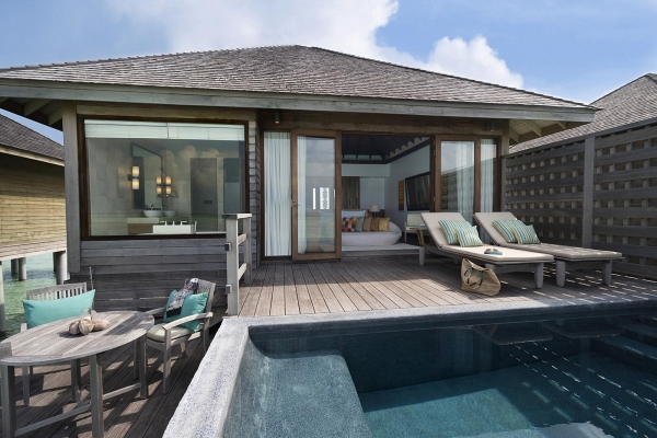 DELUXE OVER WATER POOL BUNGALOW