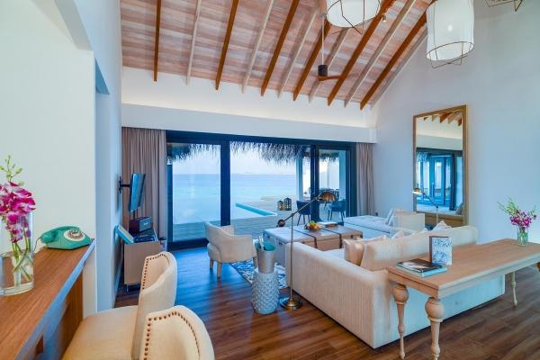 2-Bedroom Water Villa with Pool