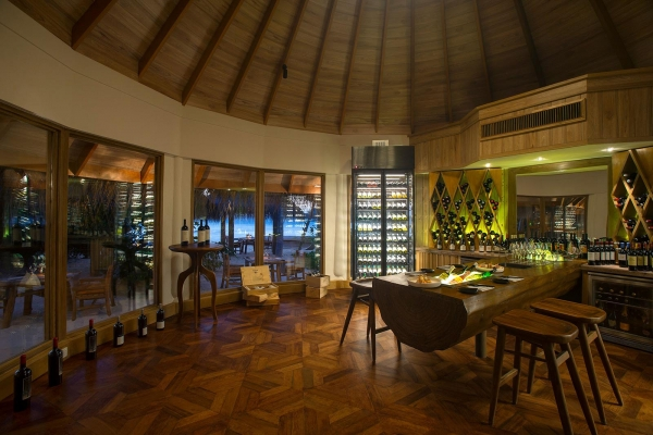 Shoreline Grill Wine Room